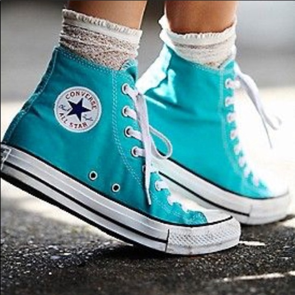 d739f73cc944 Converse Shoes - 🌈NEW CONVERSE MEDITERRANEAN BLUE SNEAKERS🌟